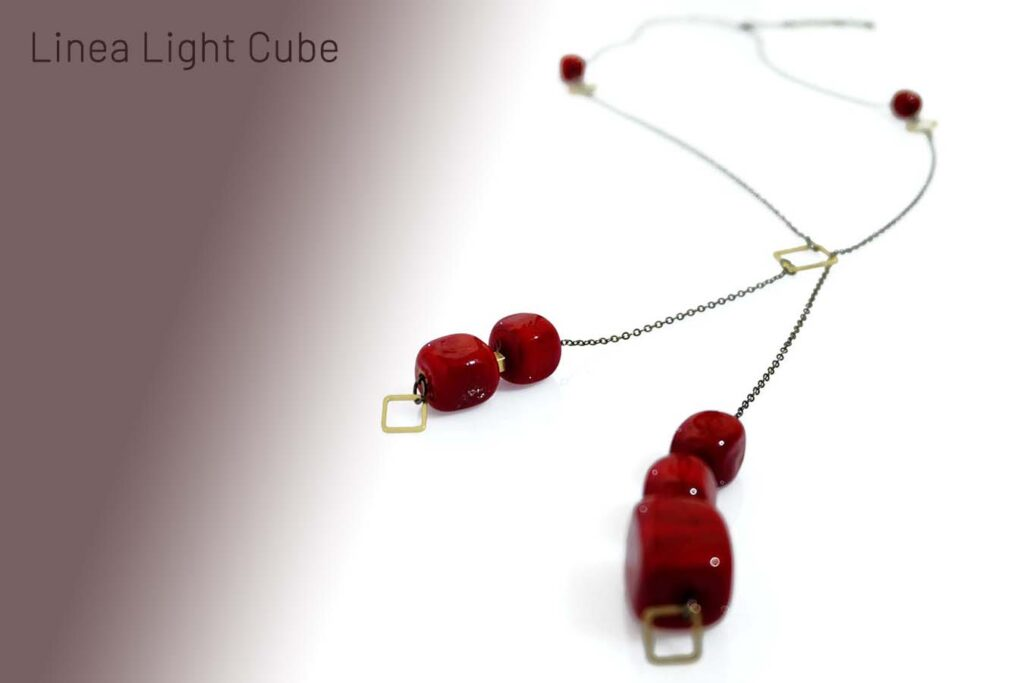 Light Cube ciondolo 1 N